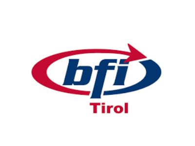 Logo vom BFI Tirol.