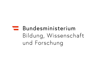 Logo vom Bundesministerium für Bildung, Wissenschaft und Forschung.